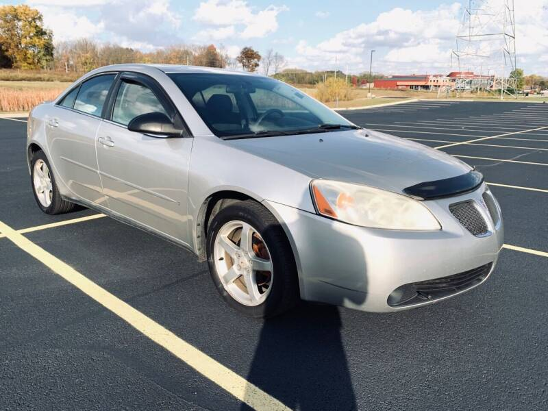 2007 Pontiac G6 for sale at Quality Motors Inc in Indianapolis IN