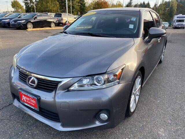 2012 Lexus CT 200h for sale at Autos Only Burien in Burien WA