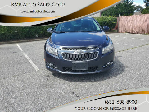 2014 Chevrolet Cruze for sale at RMB Auto Sales Corp in Copiague NY