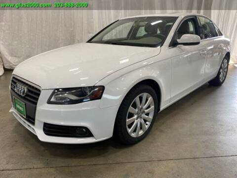 2012 Audi A4 for sale at Green Light Auto Sales LLC in Bethany CT