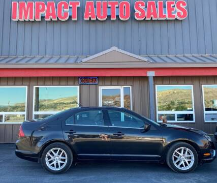 2010 Ford Fusion for sale at Impact Auto Sales in Wenatchee WA