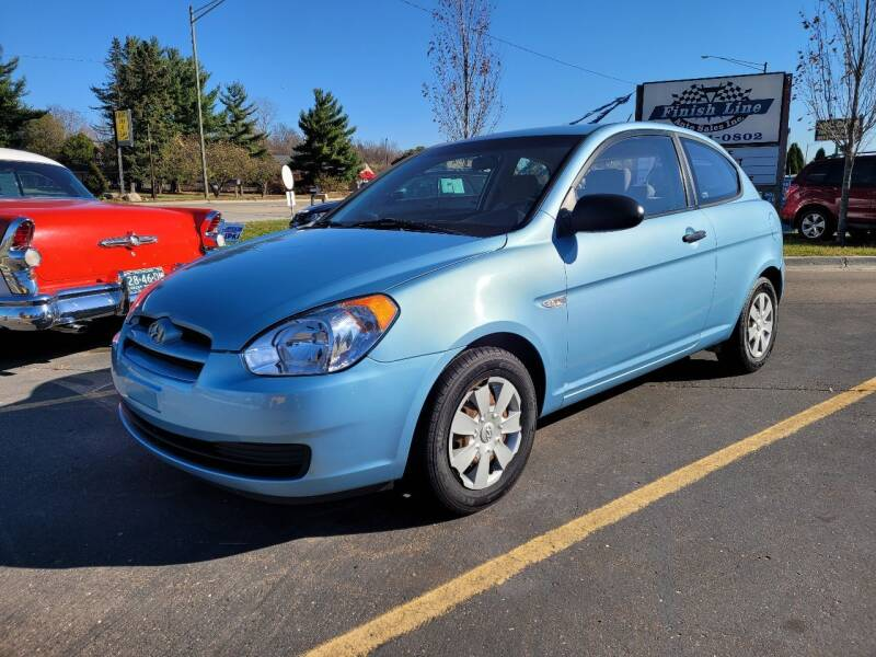 2007 Hyundai Accent for sale at Finish Line Auto Sales Inc. in Lapeer MI