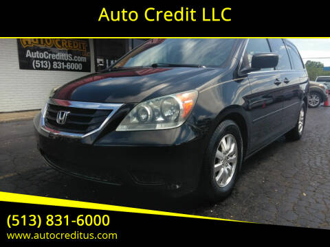 2008 Honda Odyssey for sale at Auto Credit LLC in Milford OH