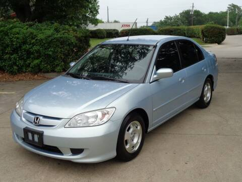 2005 Honda Civic for sale at Auto Starlight in Dallas TX