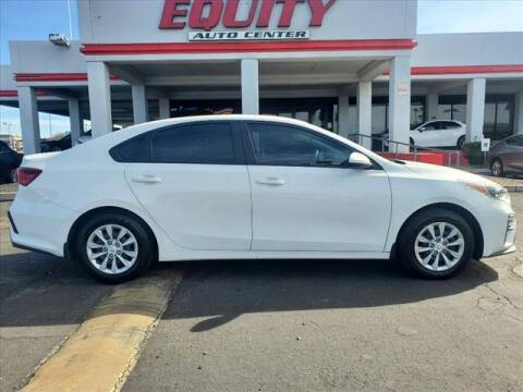 2020 Kia Forte for sale at EQUITY AUTO CENTER in Phoenix AZ