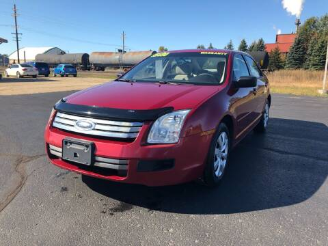 2006 Ford Fusion for sale at Mike's Budget Auto Sales in Cadillac MI