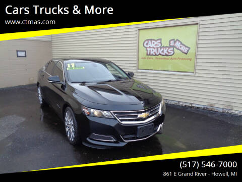 2017 Chevrolet Impala for sale at Cars Trucks & More in Howell MI
