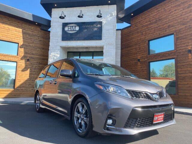 2018 Toyota Sienna for sale at Hamilton Motors in Lehi UT
