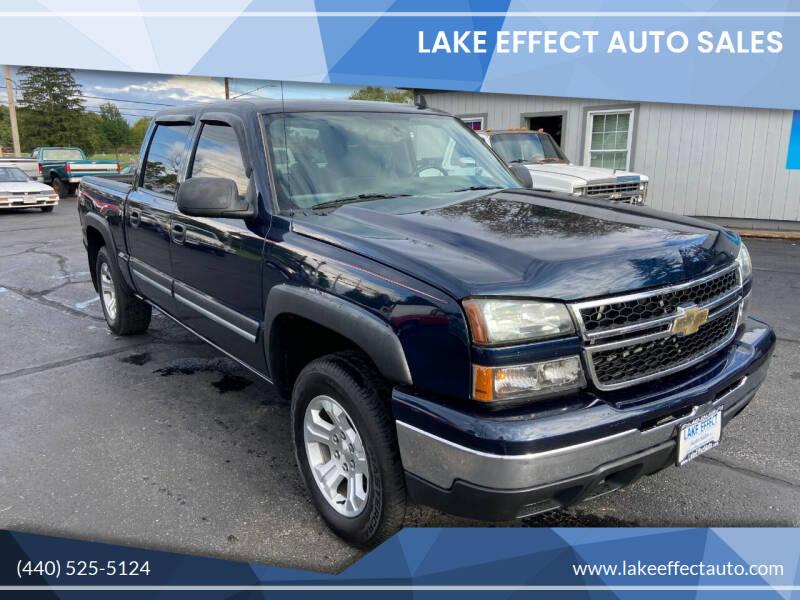 2006 Chevrolet Silverado 1500 for sale at Lake Effect Auto Sales in Chardon OH