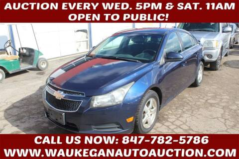 2011 Chevrolet Cruze for sale at Waukegan Auto Auction in Waukegan IL