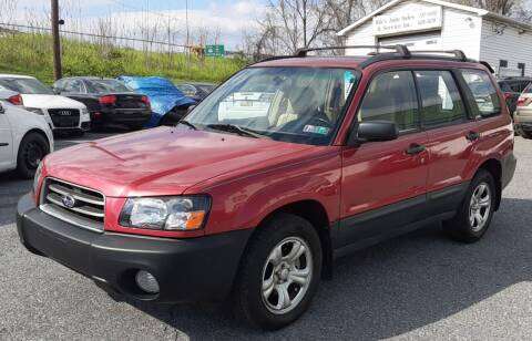2004 Subaru Forester for sale at Bik's Auto Sales in Camp Hill PA