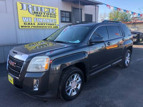 2011 GMC Terrain for sale at Rock Motors LLC in Victoria TX