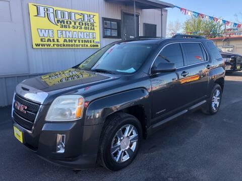 2011 GMC Terrain for sale at Rock Motors LLC in Victoria TX