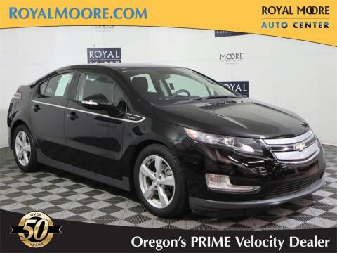 2013 Chevrolet Volt for sale at Royal Moore Custom Finance in Hillsboro OR