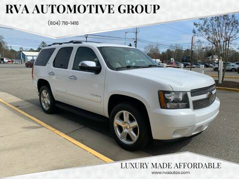 2008 Chevrolet Tahoe for sale at RVA Automotive Group in North Chesterfield VA