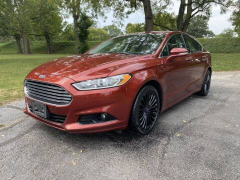 2014 Ford Fusion for sale at Moundbuilders Motor Group in Heath OH