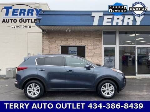 2019 Kia Sportage for sale at Terry Auto Outlet in Lynchburg VA