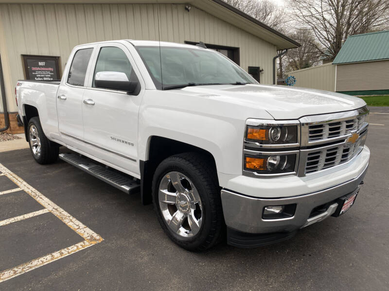 2015 Chevrolet Silverado 1500 for sale at Kubly's Automotive in Brodhead WI