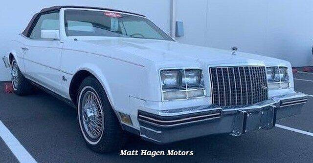 1983 Buick Riviera for sale at Matt Hagen Motors in Newport NC