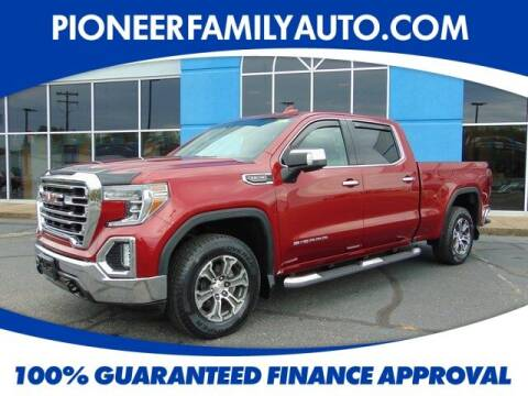 2019 GMC Sierra 1500 for sale at Pioneer Family auto in Marietta OH