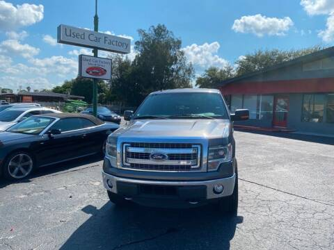2014 Ford F-150 for sale at Used Car Factory Sales & Service in Bradenton FL