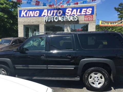 2004 Chevrolet Suburban for sale at King Auto Sales INC in Medford NY