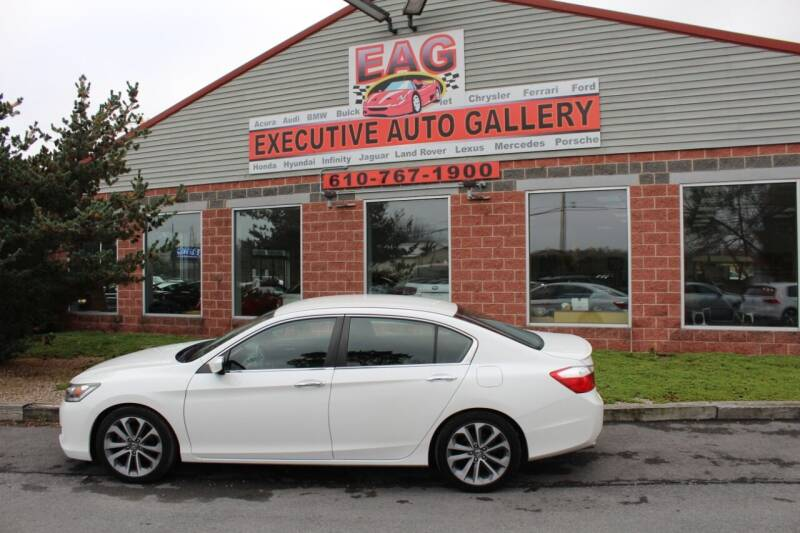 2015 Honda Accord for sale at EXECUTIVE AUTO GALLERY INC in Walnutport PA