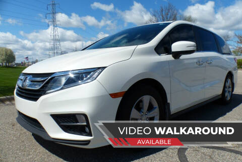 2019 Honda Odyssey for sale at Macomb Automotive Group in New Haven MI