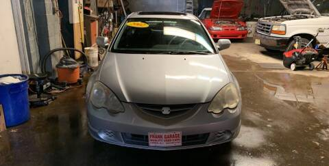 2002 Acura RSX for sale at Frank's Garage in Linden NJ
