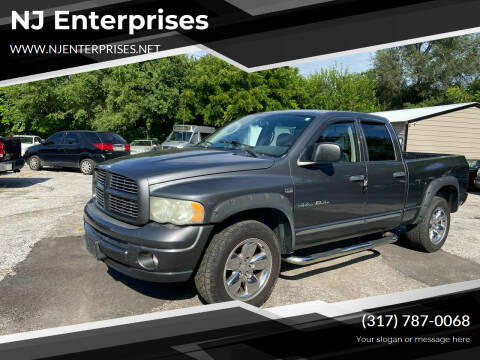 2004 Dodge Ram Pickup 1500 for sale at NJ Enterprises in Indianapolis IN
