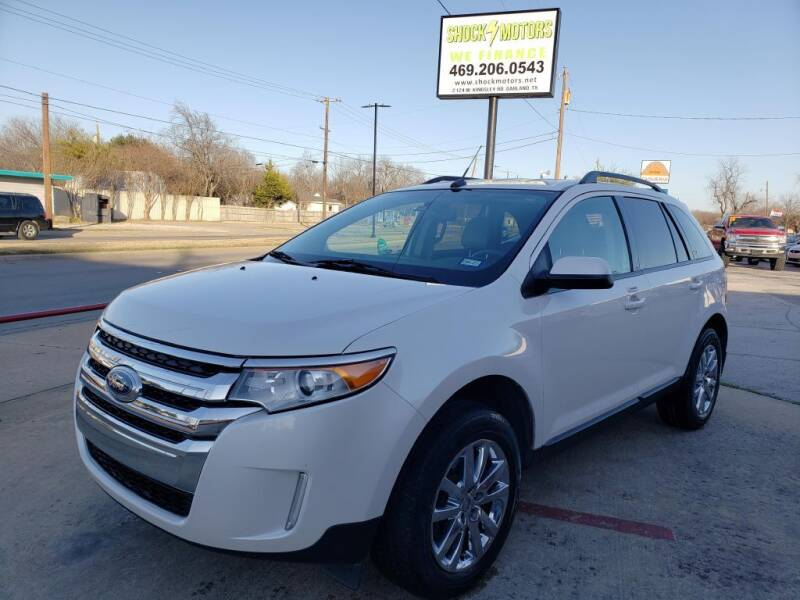 2012 Ford Edge for sale at Shock Motors in Garland TX