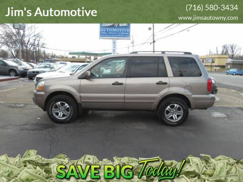 2003 Honda Pilot for sale at Jim's Automotive in Depew NY