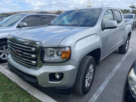 2018 GMC Canyon for sale at DORAL HYUNDAI in Doral FL