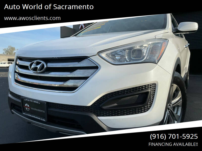 2014 Hyundai Santa Fe Sport for sale at Auto World of Sacramento Stockton Blvd in Sacramento CA