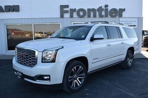 2019 GMC Yukon XL for sale at Frontier Motors Automotive, Inc. in Winner SD