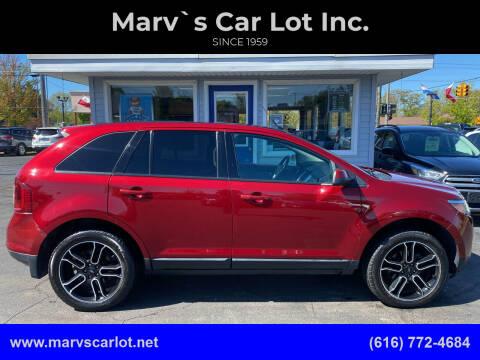 2013 Ford Edge for sale at Marv`s Car Lot Inc. in Zeeland MI