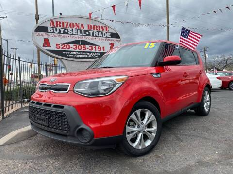 2015 Kia Soul for sale at Arizona Drive LLC in Tucson AZ