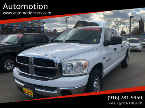 2007 Dodge Ram Pickup 1500 for sale at Automotion in Roseville CA