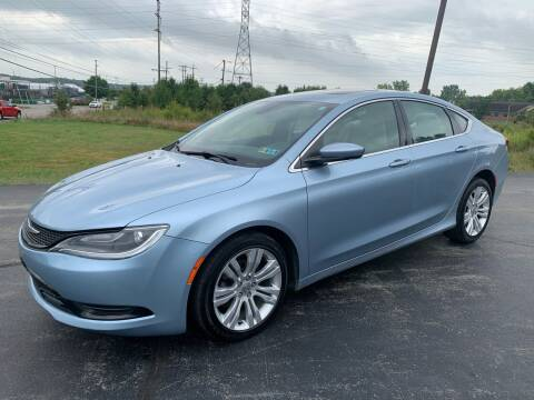 2015 Chrysler 200 for sale at Country Auto Sales in Boardman OH