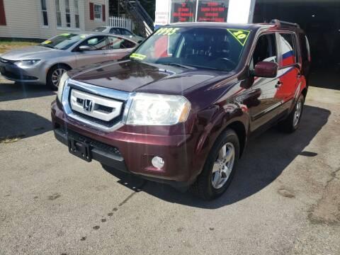 2010 Honda Pilot for sale at TC Auto Repair and Sales Inc in Abington MA