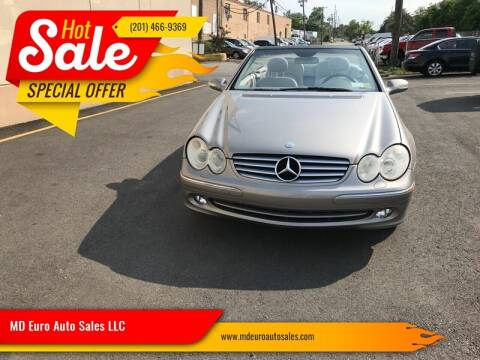 2005 Mercedes-Benz CLK for sale at MD Euro Auto Sales LLC in Hasbrouck Heights NJ
