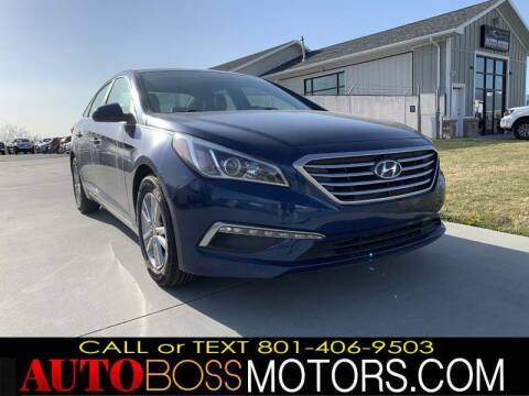 2015 Hyundai Sonata for sale at Auto Boss in Woodscross UT