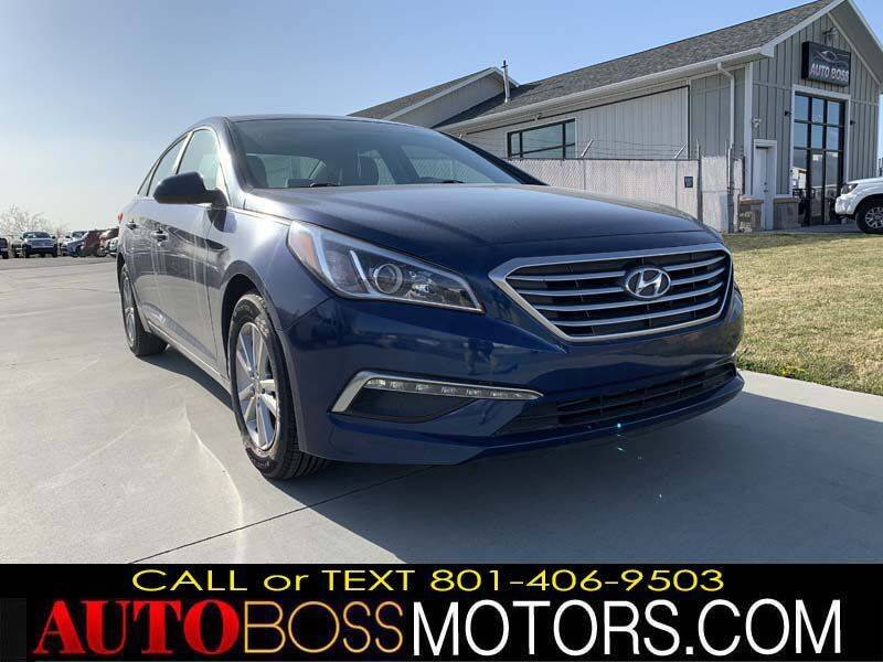 2015 Hyundai Sonata for sale at Auto Boss in Woodscross UT