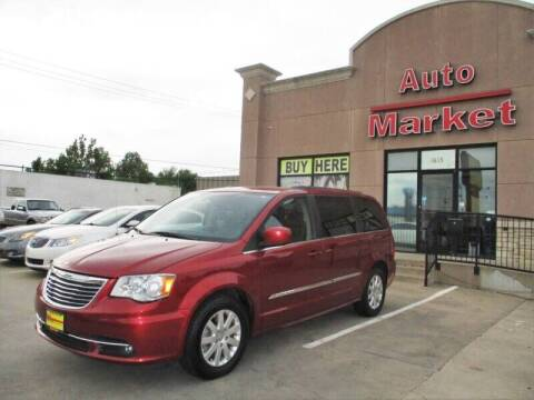 2015 Chrysler Town and Country for sale at Auto Market in Oklahoma City OK