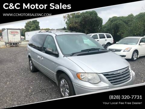 2005 Chrysler Town and Country for sale at C&C Motor Sales LLC in Hudson NC