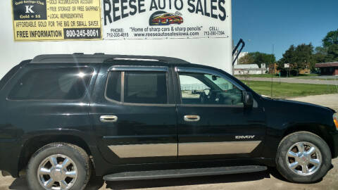 2004 GMC Envoy XL for sale at Reese Auto Sales in Pocahontas IA