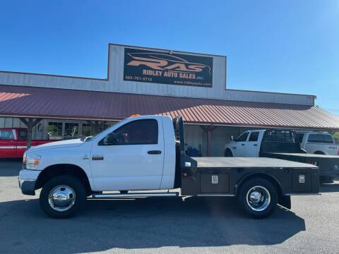 2008 Dodge Ram Chassis 3500 for sale at Ridley Auto Sales, Inc. in White Pine TN