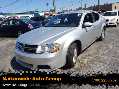2011 Dodge Avenger for sale at Nationwide Auto Group in Melrose Park IL