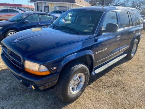 2000 Dodge Durango for sale at Texas Select Autos LLC in Mckinney TX
