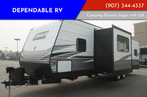 2022 Dutchmen Coleman 300TQ for sale at Dependable RV in Anchorage AK